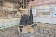 ΒΙΕΝΝΗ, ΑΥΣΤΡΙΑ - 10 ΟΚΤΩΒΡΊΟΥ 2016: Διακόσμηση καθεδρικών ναών του ST Stephen ` s, Βιέννη, Αυστρία Στοκ εικόνες με δικαίωμα ελεύθερης χρήσης