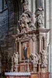ΒΙΕΝΝΗ, AUSTRIA/EUROPE - 22 ΣΕΠΤΕΜΒΡΊΟΥ: Άποψη λεπτομέρειας του ST Stepha στοκ φωτογραφία