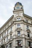 ΒΙΕΝΝΗ, AUSTRIA/EUROPE - 22 ΣΕΠΤΕΜΒΡΊΟΥ: Generali που χτίζει Spiege στοκ εικόνες