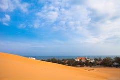 Βιετνάμ και η Ηνωμένη Chennai έρημος και η θάλασσα Στοκ Φωτογραφία