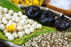 Βιετναμέζικα τρόφιμα, γλυκό gruel σπόρου λωτού Στοκ Φωτογραφία