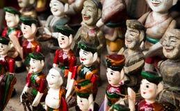 Βιετναμέζικες μαριονέτες νερού Στοκ Εικόνες