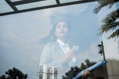 Βιετναμέζικη επιχειρησιακή κυρία Στοκ Φωτογραφία