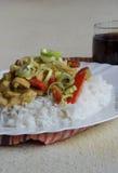 Βιετναμέζικη κάθετη άποψη τροφίμων Στοκ εικόνα με δικαίωμα ελεύθερης χρήσης