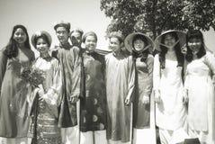 Βιετναμέζικος-αμερικανικοί σπουδαστές Στοκ Εικόνες