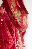Βιετναμέζικο γαμήλιο φόρεμα AO Dai Στοκ Εικόνες