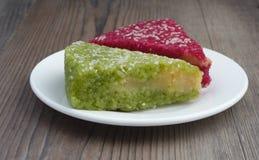 Βιετναμέζικο κολλώδες κέικ Xoi VI ρυζιού στοκ εικόνες με δικαίωμα ελεύθερης χρήσης