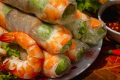 Βιετναμέζικο πιάτο στοκ εικόνες με δικαίωμα ελεύθερης χρήσης