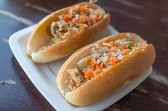 Βιετναμέζικο σάντουιτς στην Ταϊλάνδη Στοκ φωτογραφία με δικαίωμα ελεύθερης χρήσης