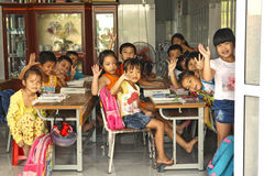 Βιετναμέζικο σχολείο παιδιών ιδιωτικά Στοκ Εικόνες