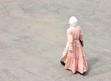 βικτοριανή γυναίκα Στοκ φωτογραφία με δικαίωμα ελεύθερης χρήσης