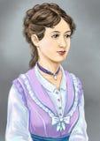 Βικτοριανή κυρία Απεικόνιση αποθεμάτων