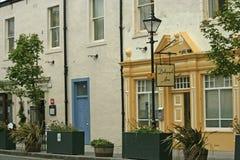 Βικτοριανή οδός στο Βορρά Berwick, Σκωτία Στοκ Εικόνες