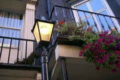 Βικτοριανό εκλεκτής ποιότητας μετα φως λαμπτήρων οδών Στοκ Εικόνες