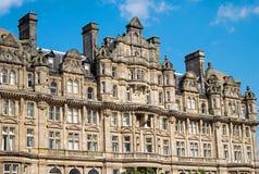 Βικτοριανό κτήριο στο Εδιμβούργο στοκ φωτογραφίες με δικαίωμα ελεύθερης χρήσης