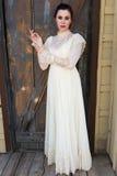 Βικτοριανό φόρεμα στοκ εικόνα με δικαίωμα ελεύθερης χρήσης