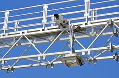 Βιντεοκάμερα για την τηλεοπτική επιτήρηση στοκ φωτογραφίες