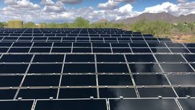 Βιντεοσκοπημένες εικόνες ηλιακών πλαισίων απόθεμα βίντεο