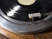 Βινυλίου gramophone αρχείο Στοκ Εικόνες