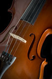 Βιολί ή βιολί Στοκ φωτογραφία με δικαίωμα ελεύθερης χρήσης