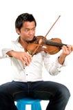 βιολί ατόμων Στοκ Εικόνα