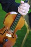 βιολί λεπτομέρειας Στοκ φωτογραφίες με δικαίωμα ελεύθερης χρήσης