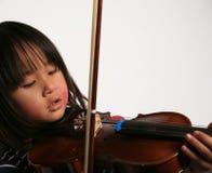 βιολί παιδιών στοκ φωτογραφία με δικαίωμα ελεύθερης χρήσης