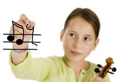 βιολί πεννών εκμετάλλευ&si Στοκ Φωτογραφία