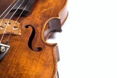 βιολί πλευρών Στοκ εικόνα με δικαίωμα ελεύθερης χρήσης