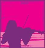 βιολί φορέων Στοκ εικόνα με δικαίωμα ελεύθερης χρήσης