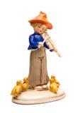 βιολιστής παιχνιδιών πορ&sig Στοκ φωτογραφία με δικαίωμα ελεύθερης χρήσης
