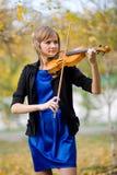 Βιολιστής Στοκ Εικόνα