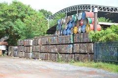 Βιομηχανία αποβλήτων στοκ εικόνα