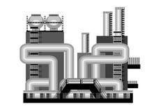 Βιομηχανία εικονιδίων διανυσματική απεικόνιση