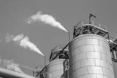 Βιομηχανία εργοστασίων καλάμων ζάχαρης Στοκ εικόνες με δικαίωμα ελεύθερης χρήσης