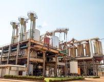 Βιομηχανία εργοστασίων καλάμων ζάχαρης Στοκ Εικόνα