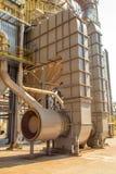Βιομηχανία εργοστασίων καλάμων ζάχαρης Στοκ φωτογραφία με δικαίωμα ελεύθερης χρήσης