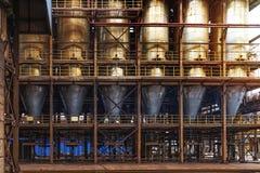 Βιομηχανία εργοστασίων χάλυβα Στοκ φωτογραφίες με δικαίωμα ελεύθερης χρήσης