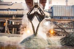 Βιομηχανία εργοστασίων χάλυβα Στοκ φωτογραφία με δικαίωμα ελεύθερης χρήσης