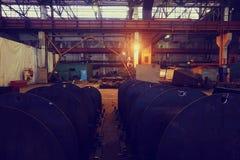 Βιομηχανία εργοστασίων Στοκ φωτογραφία με δικαίωμα ελεύθερης χρήσης