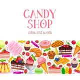 Βιομηχανία ζαχαρωδών προϊόντων και γλυκά Στοκ εικόνα με δικαίωμα ελεύθερης χρήσης