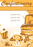 βιομηχανία ζαχαρωδών προϊόν απεικόνιση αποθεμάτων