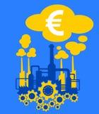Βιομηχανία και οικονομία της Ευρωπαϊκής Ένωσης Στοκ φωτογραφίες με δικαίωμα ελεύθερης χρήσης