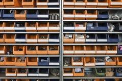 βιομηχανία κιβωτίων Στοκ Εικόνα