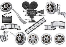 βιομηχανία κινηματογράφο& Στοκ φωτογραφίες με δικαίωμα ελεύθερης χρήσης