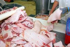 Βιομηχανία κρέατος Στοκ εικόνα με δικαίωμα ελεύθερης χρήσης