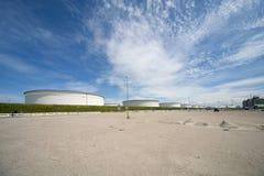 Βιομηχανία στο λιμένα του Ρότερνταμ Στοκ Εικόνα