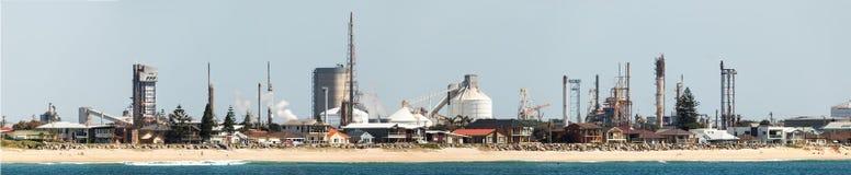 Βιομηχανία στο Νιουκάσλ Αυστραλία στοκ εικόνα με δικαίωμα ελεύθερης χρήσης