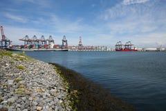 Βιομηχανία στο Ρότερνταμ Στοκ Φωτογραφίες