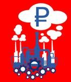 Βιομηχανία της Ρωσίας Στοκ Εικόνα